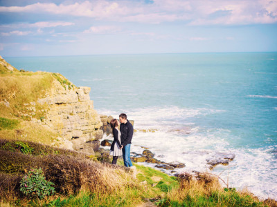 ❤ JUSTIN AND NATALIE ❤ ENGAGED ❤ WORTH MATRAVERS ❤ WEDDING PHOTOGRAPHER DORSET ❤