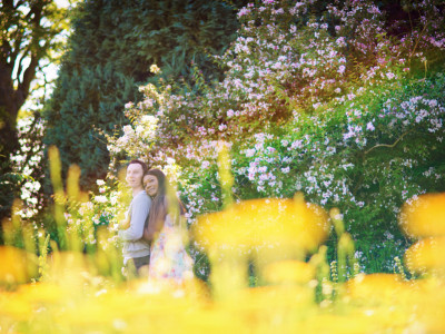 Richard + Catherine | Engagement Session | Waterperry Gardens | Oxford Wedding Photographer