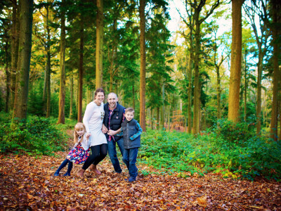 Gavin + Teresa | Engagement & Family Session | Forest of Bere | Hampshire Wedding Photographer