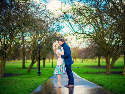 Richard + Sophie | Engagement Session | Primrose Hill Park | London Wedding Photographer