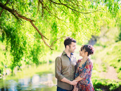 James + Tara | Engaged | Richmond Park Wedding Photographer