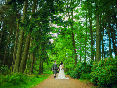 Colin + Sarah | Crombie Country Park, Scotland | Humanist Wedding Photographer