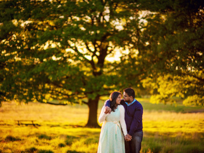 Benjamin + Sarah | Engaged | Richmond Park Wedding Photographer