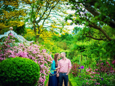Michael + Melissa | Engaged | West Green House Garden | Hampshire Wedding Photographer