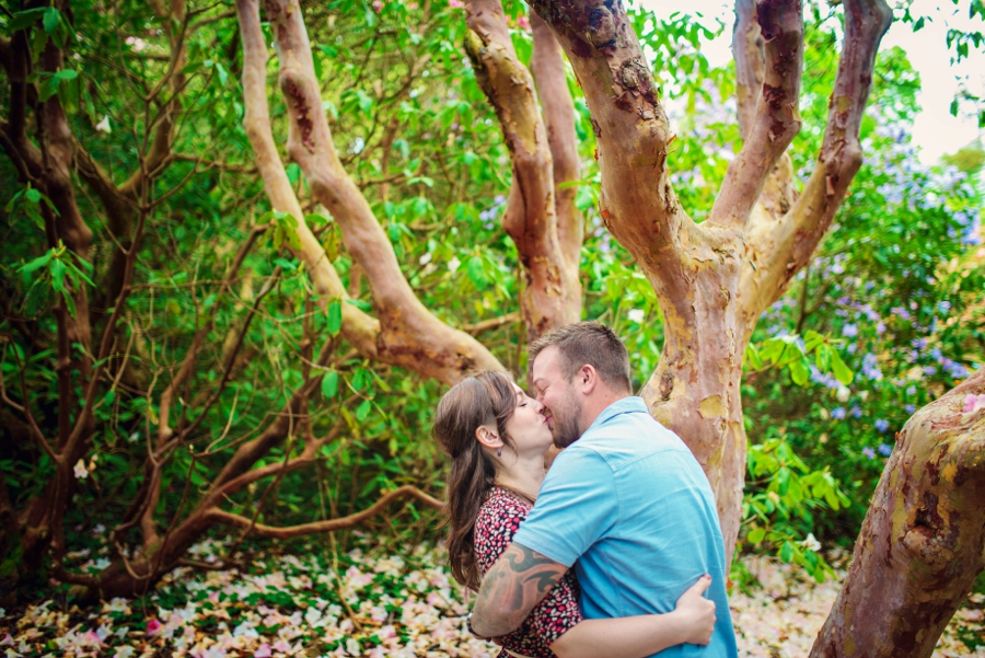 New Forest Wedding Photographer Exbury Gardens Engagement Session - Richard and Lynsey - Photography By Vicki_0002
