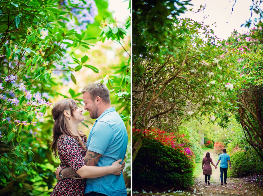New Forest Wedding Photographer Exbury Gardens Engagement Session - Richard and Lynsey - Photography By Vicki_0003