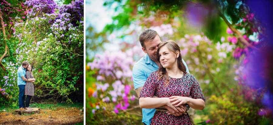 New Forest Wedding Photographer Exbury Gardens Engagement Session - Richard and Lynsey - Photography By Vicki_0004