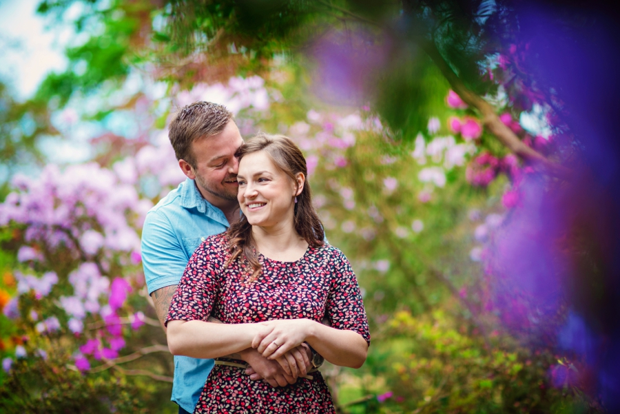 New Forest Wedding Photographer Exbury Gardens Engagement Session - Richard and Lynsey - Photography By Vicki_0005