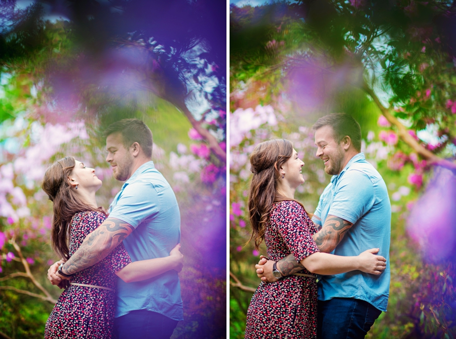 New Forest Wedding Photographer Exbury Gardens Engagement Session - Richard and Lynsey - Photography By Vicki_0006