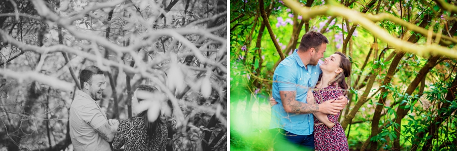 New Forest Wedding Photographer Exbury Gardens Engagement Session - Richard and Lynsey - Photography By Vicki_0008