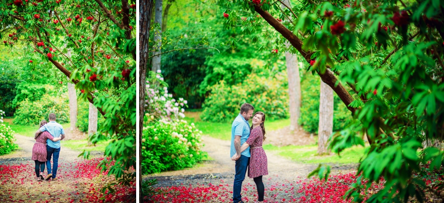 New Forest Wedding Photographer Exbury Gardens Engagement Session - Richard and Lynsey - Photography By Vicki_0010