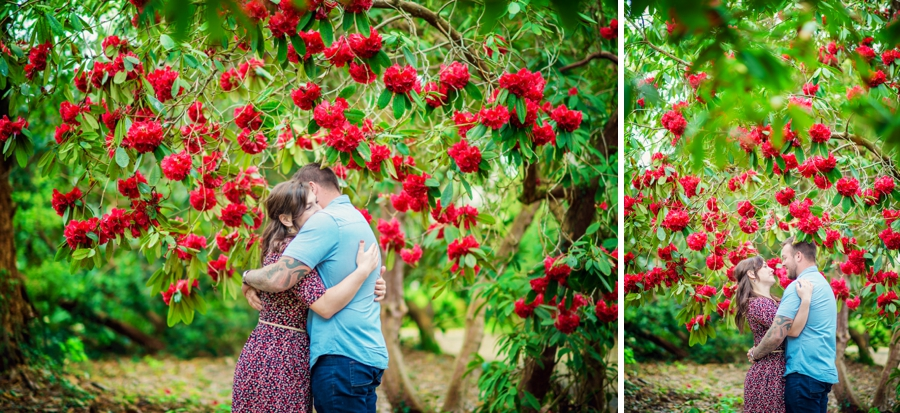 New Forest Wedding Photographer Exbury Gardens Engagement Session - Richard and Lynsey - Photography By Vicki_0012