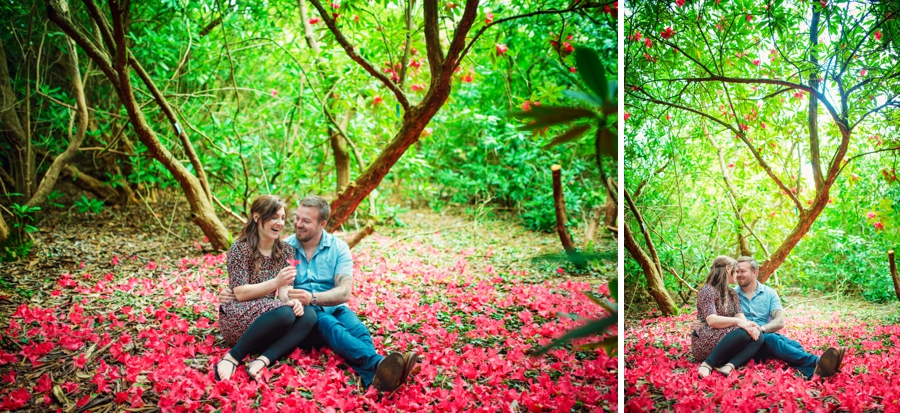 New Forest Wedding Photographer Exbury Gardens Engagement Session - Richard and Lynsey - Photography By Vicki_0014