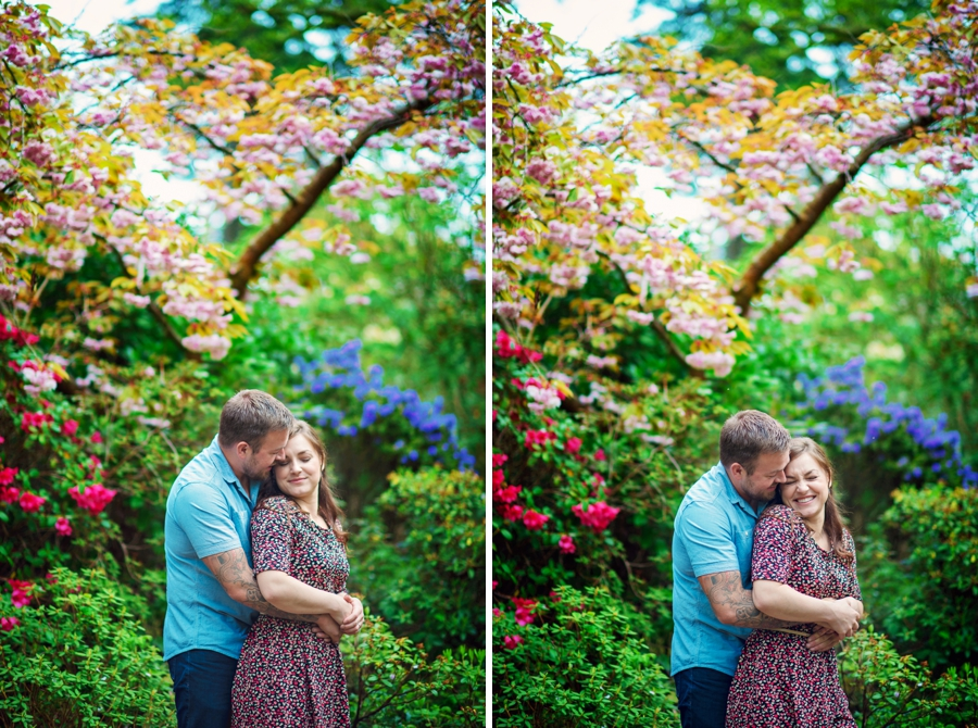New Forest Wedding Photographer Exbury Gardens Engagement Session - Richard and Lynsey - Photography By Vicki_0018