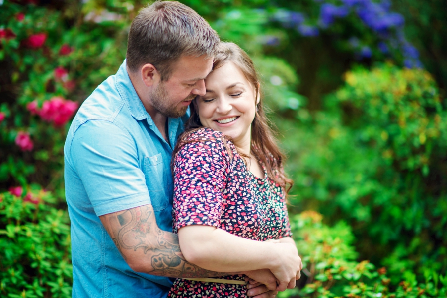New Forest Wedding Photographer Exbury Gardens Engagement Session - Richard and Lynsey - Photography By Vicki_0019