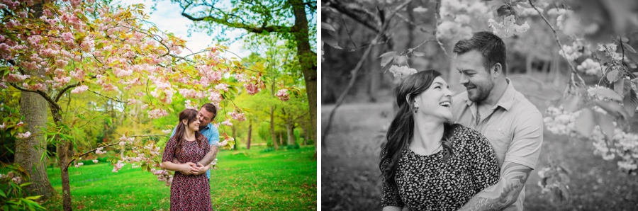 New Forest Wedding Photographer Exbury Gardens Engagement Session - Richard and Lynsey - Photography By Vicki_0024