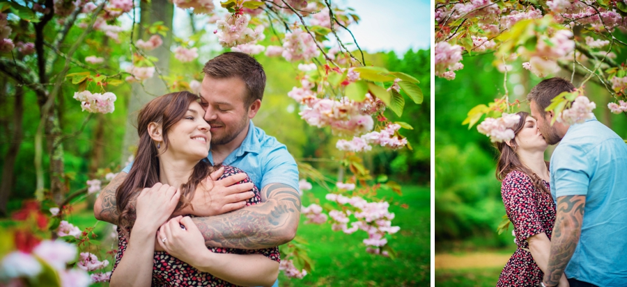New Forest Wedding Photographer Exbury Gardens Engagement Session - Richard and Lynsey - Photography By Vicki_0026