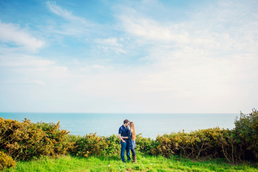 Dorset Wedding Photographer Steamer Point Bournemouth Engagement Session - Owen and Hannah - Photography By Vicki_0017