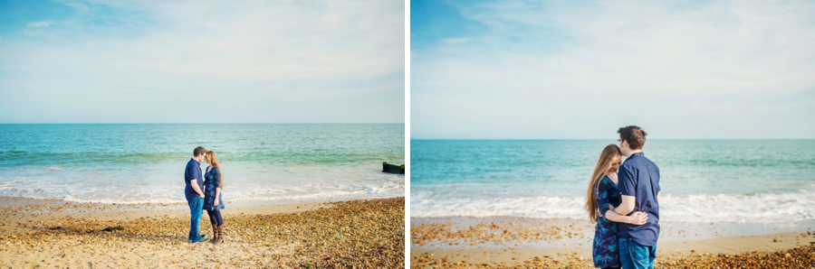 Dorset Wedding Photographer Steamer Point Bournemouth Engagement Session - Owen and Hannah - Photography By Vicki_0020