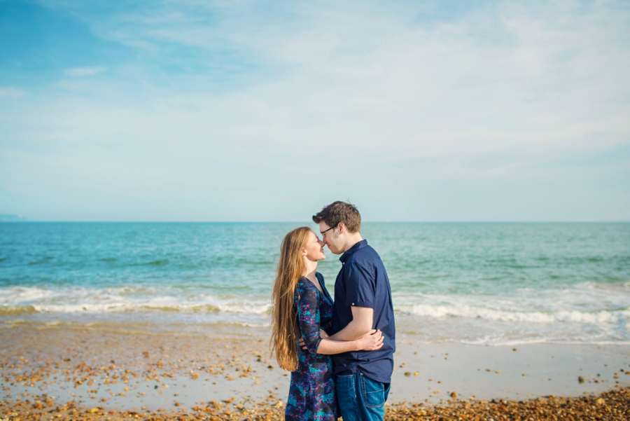 Dorset Wedding Photographer Steamer Point Bournemouth Engagement Session - Owen and Hannah - Photography By Vicki_0021