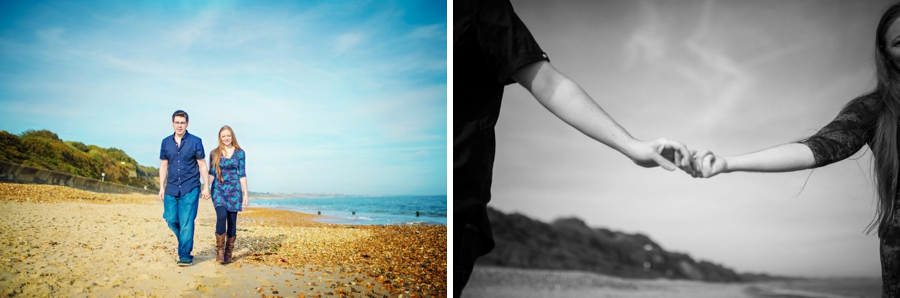 Dorset Wedding Photographer Steamer Point Bournemouth Engagement Session - Owen and Hannah - Photography By Vicki_0022