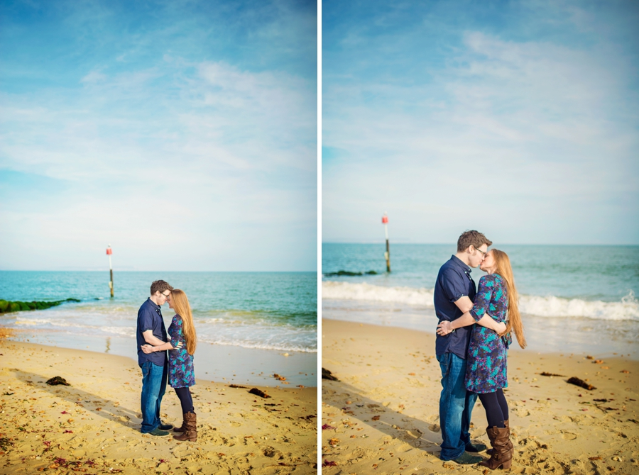 Dorset Wedding Photographer Steamer Point Bournemouth Engagement Session - Owen and Hannah - Photography By Vicki_0023