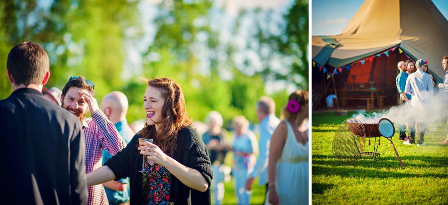 Chichester Wedding Photographer Tipi Festival Wedding - James & Tarn - Photography By Vicki_0017