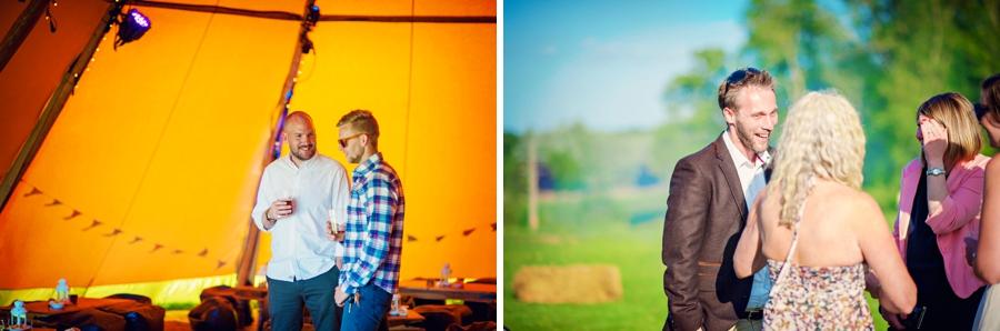 Chichester Wedding Photographer Tipi Festival Wedding - James & Tarn - Photography By Vicki_0020