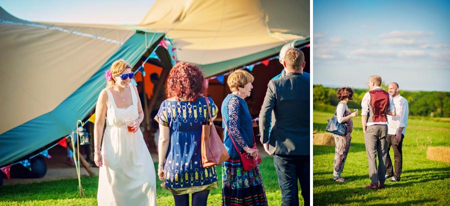 Chichester Wedding Photographer Tipi Festival Wedding - James & Tarn - Photography By Vicki_0023