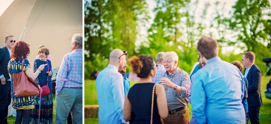Chichester Wedding Photographer Tipi Festival Wedding - James & Tarn - Photography By Vicki_0024
