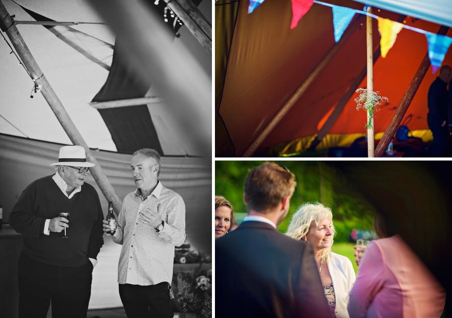 Chichester Wedding Photographer Tipi Festival Wedding - James & Tarn - Photography By Vicki_0026