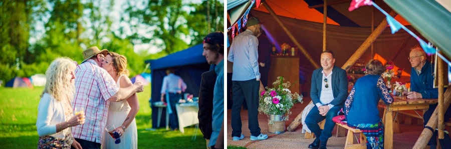 Chichester Wedding Photographer Tipi Festival Wedding - James & Tarn - Photography By Vicki_0027