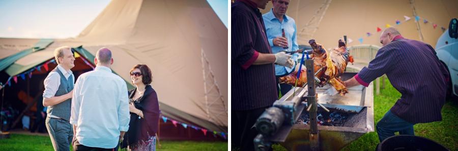 Chichester Wedding Photographer Tipi Festival Wedding - James & Tarn - Photography By Vicki_0030