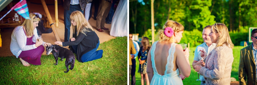 Chichester Wedding Photographer Tipi Festival Wedding - James & Tarn - Photography By Vicki_0032
