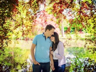 Mike + Becki | Engaged | Exbury Gardens Wedding Photographer