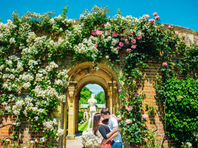 Max + Leila | Engaged | Hever Castle Wedding Photographer