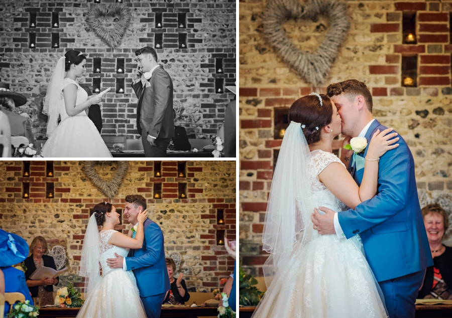 Upwaltham Barns Wedding Photography Harry and Philippa Photography by Vicki_0044