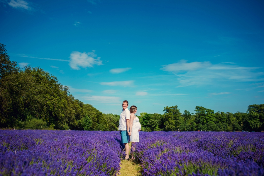 Pregnancy Photographer Mayfeilds Lavender Fields Maternity Session - Ben & Charlotte - Photography by Vicki_0002