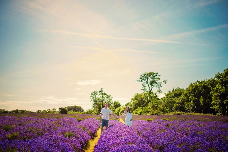 Pregnancy Photographer Mayfeilds Lavender Fields Maternity Session - Ben & Charlotte - Photography by Vicki_0003