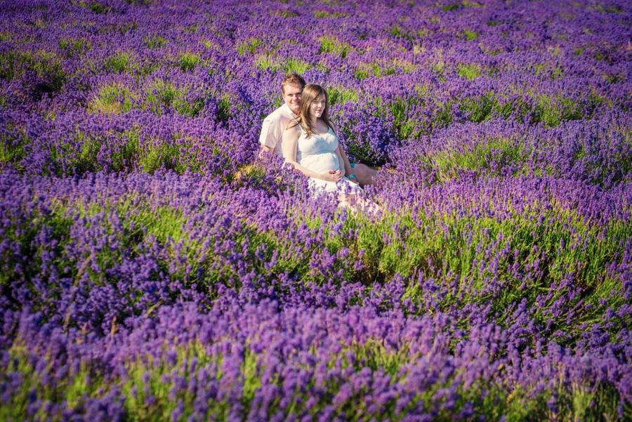 Pregnancy Photographer Mayfeilds Lavender Fields Maternity Session - Ben & Charlotte - Photography by Vicki_0006