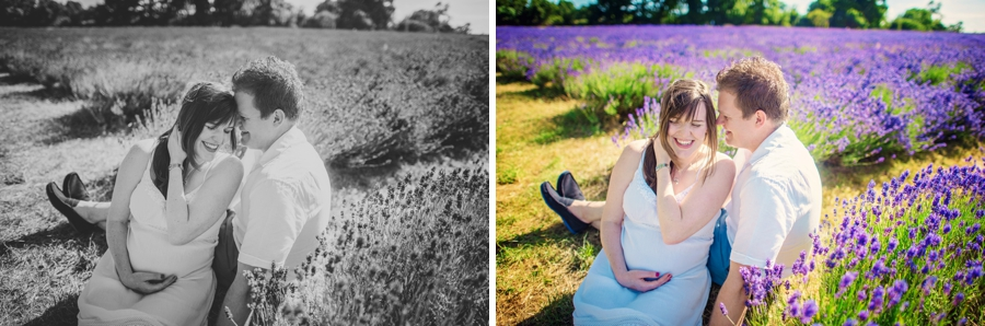 Pregnancy Photographer Mayfeilds Lavender Fields Maternity Session - Ben & Charlotte - Photography by Vicki_0008