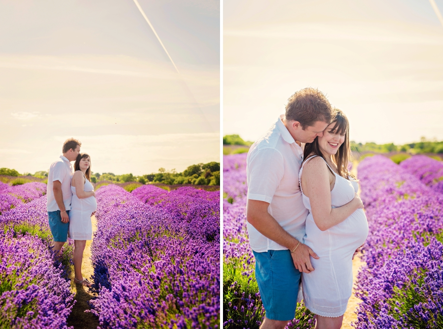 Pregnancy Photographer Mayfeilds Lavender Fields Maternity Session - Ben & Charlotte - Photography by Vicki_0011