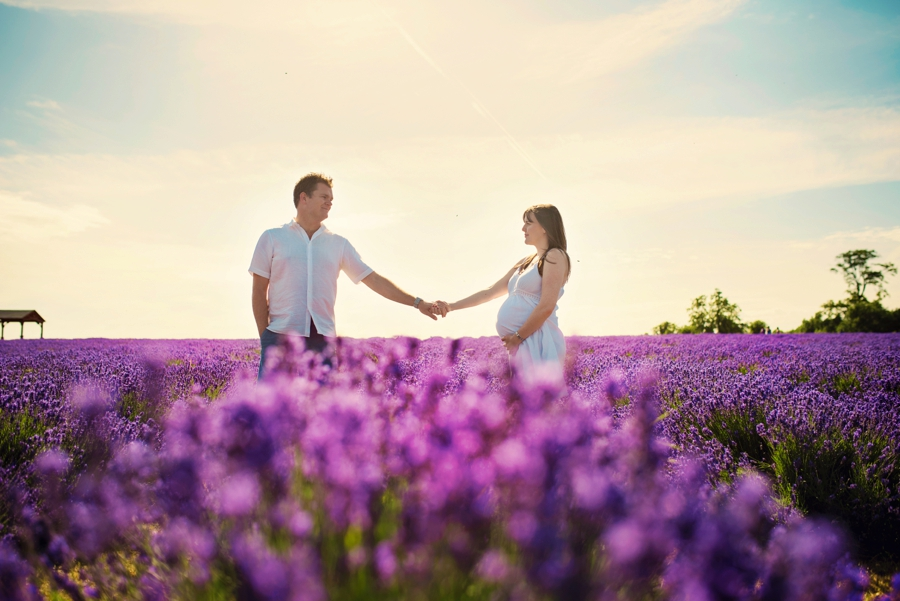 Pregnancy Photographer Mayfeilds Lavender Fields Maternity Session - Ben & Charlotte - Photography by Vicki_0014