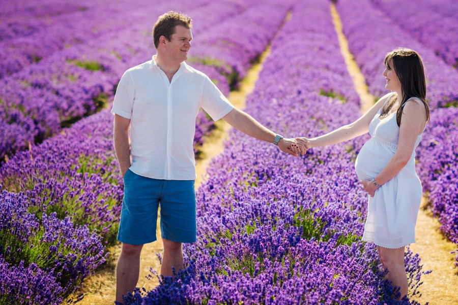 Pregnancy Photographer Mayfeilds Lavender Fields Maternity Session - Ben & Charlotte - Photography by Vicki_0015