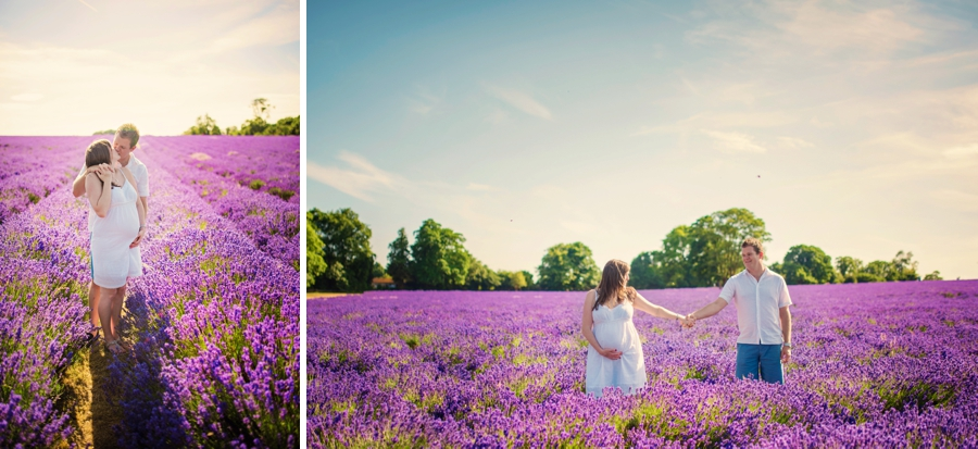 Pregnancy Photographer Mayfeilds Lavender Fields Maternity Session - Ben & Charlotte - Photography by Vicki_0018