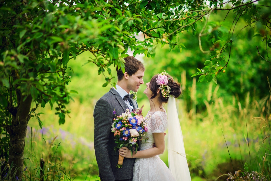 Lavender Farm Wedding Photographer