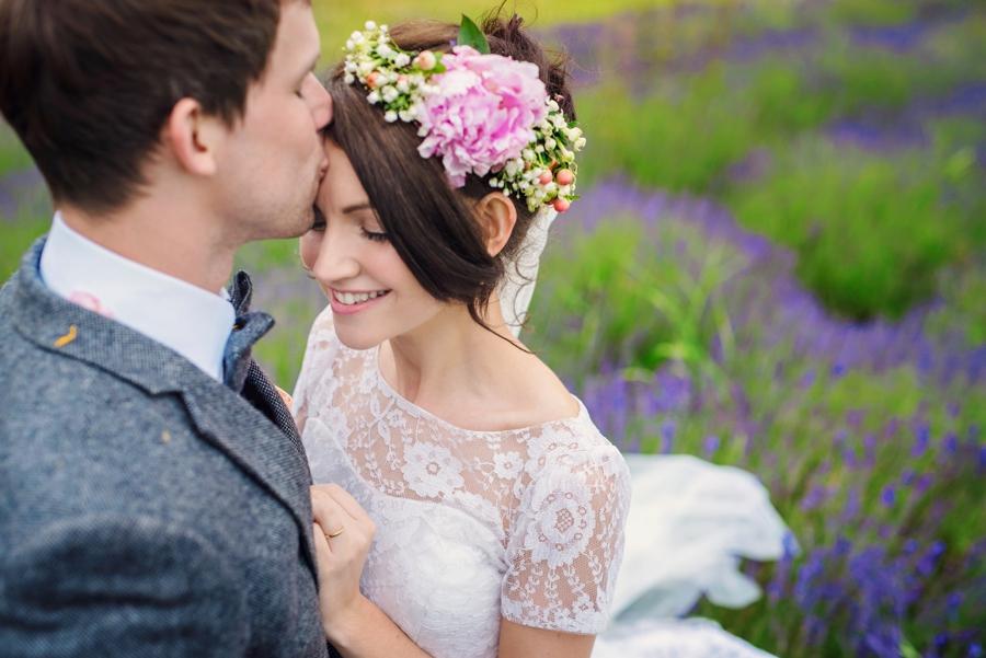 Shropshire Lavender Farm Wedding Photographer - Tom & Leona - Photography by Vicki_0083