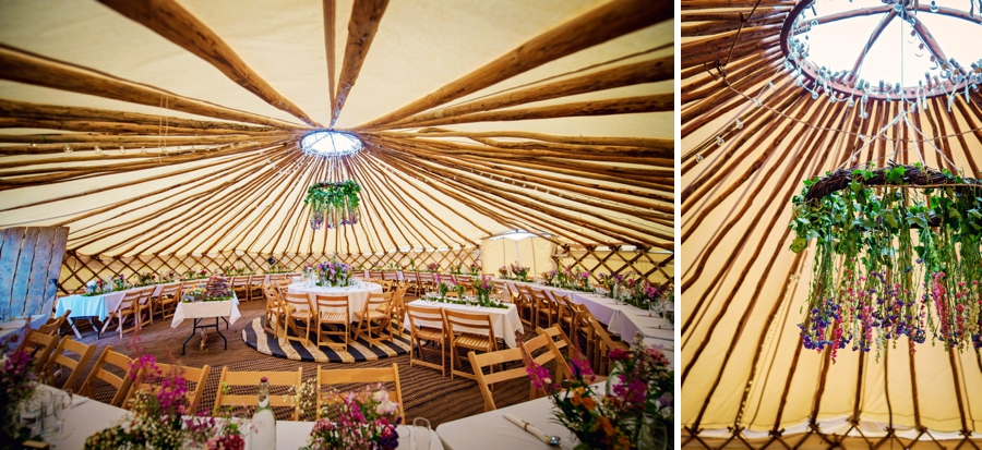 Shropshire Lavender Farm Yurt Wedding Photographer - Tom & Leona - Photography by Vicki_0090