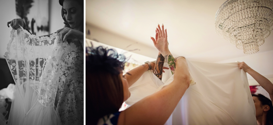 Alternative Wedding Photographer - Tattooed Bride Tattooed Groom - Ben & Danni - Photography by Vicki_0006