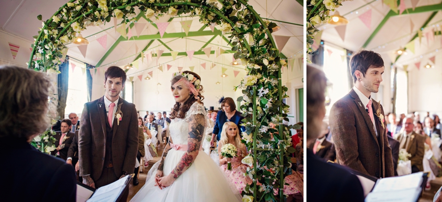 Kent Life Wedding Photographer - Tattooed Bride Tattooed Groom - Ben & Danni - Photography by Vicki_0038